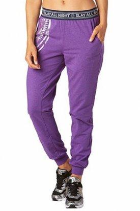 Pantaloni dama, Zumba, Mov, XS