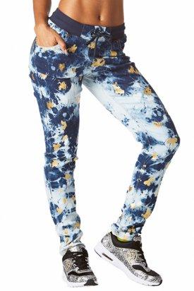 Pantaloni dama, Zumba, Albastru, M