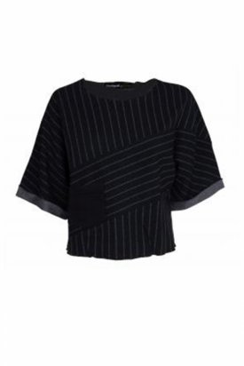 Bluza dama, Desigual, Negru, M EU