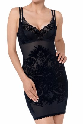 Lenjerie intima, Triumph Magic Boost Velvet Dress, Negru, XL