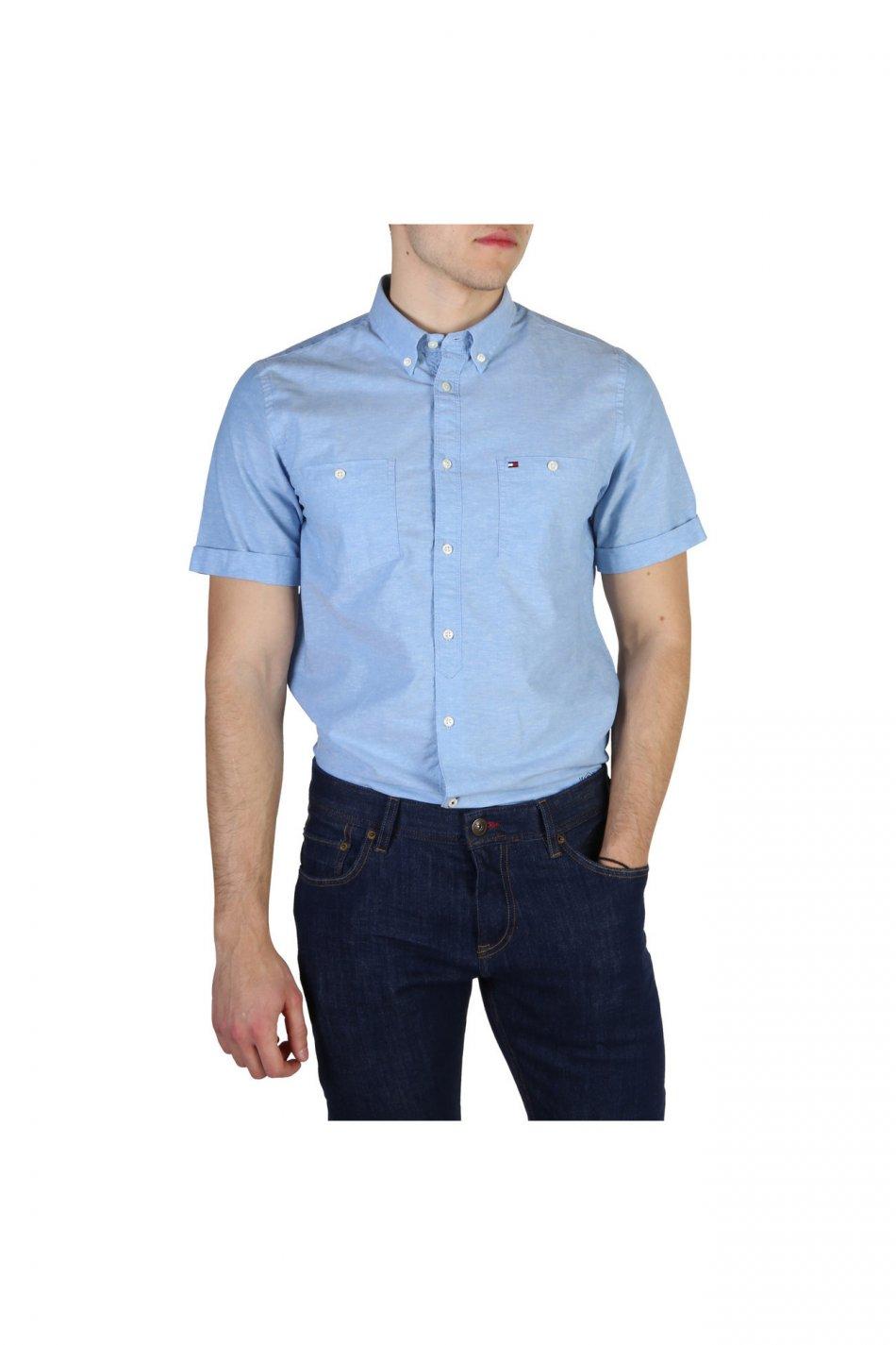 Camasa barbati Tommy Hilfiger model MW0MW01960, culoare Albastru, marime L EU