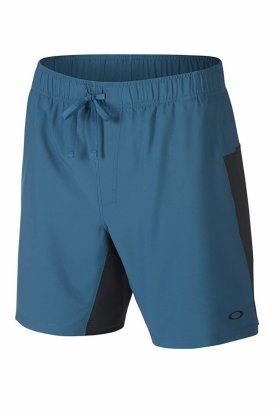Pantaloni, Oakley, Verde marin, L EU