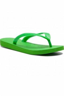 Papuci flip-flop, Havaianas, Verde deschis, 45 EU