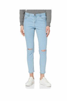 Pantaloni blugi, New Look, Albastru deschis, 36 EU