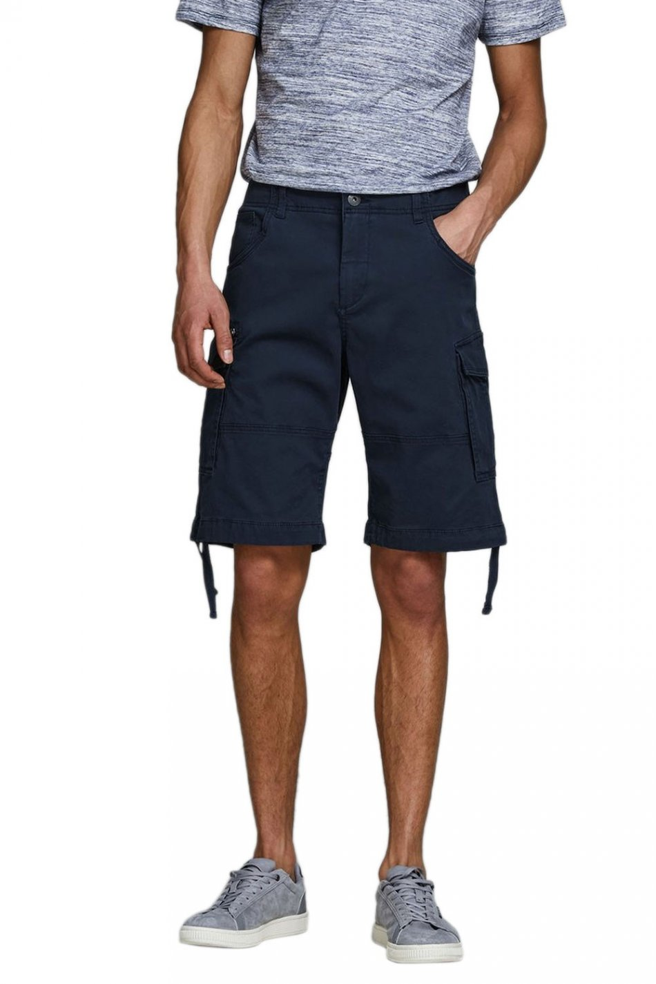 Pantaloni, Jack&Jones, Albastru inchis, M EU