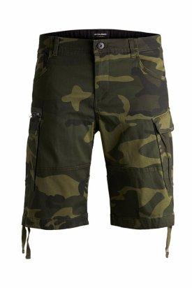Pantaloni, Jack&Jones, Verde militar, M EU
