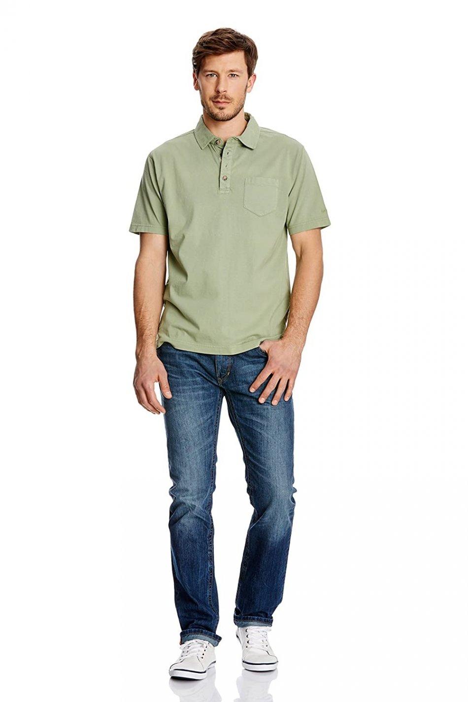 Bluza cu maneca scurta, Gin Tonic, Verde, 2XL EU