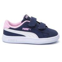 Pantofi sport Puma 36518409 Smash v2 Buck V copii  25 eu