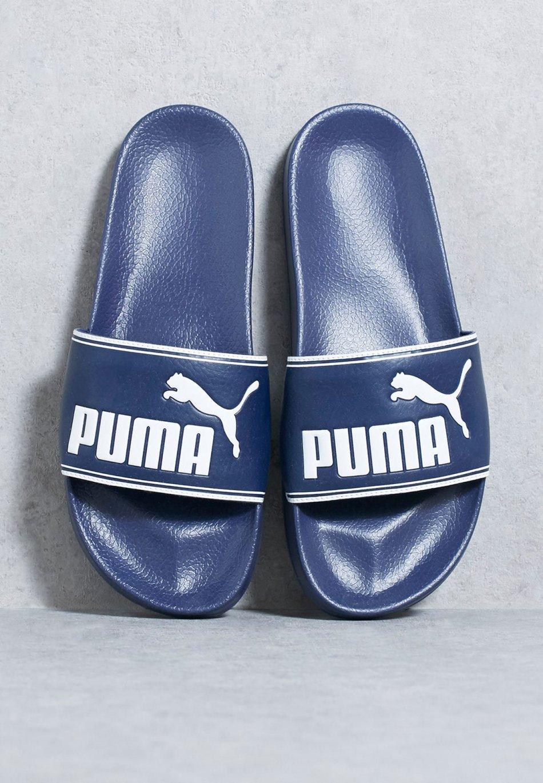 Slapi Puma Leadcat 360263 02, barbati, bleumarin 42 EU