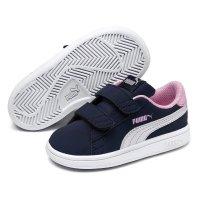 Pantofi sport Puma 36518309 Smash v2 Buck V PS Bleumarin  34.5 EU
