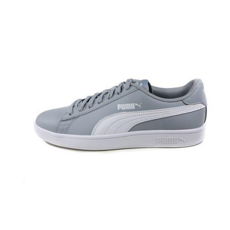 Pantofi Puma Smash v2 L Quarry-Puma White 36521510 40.5 EU