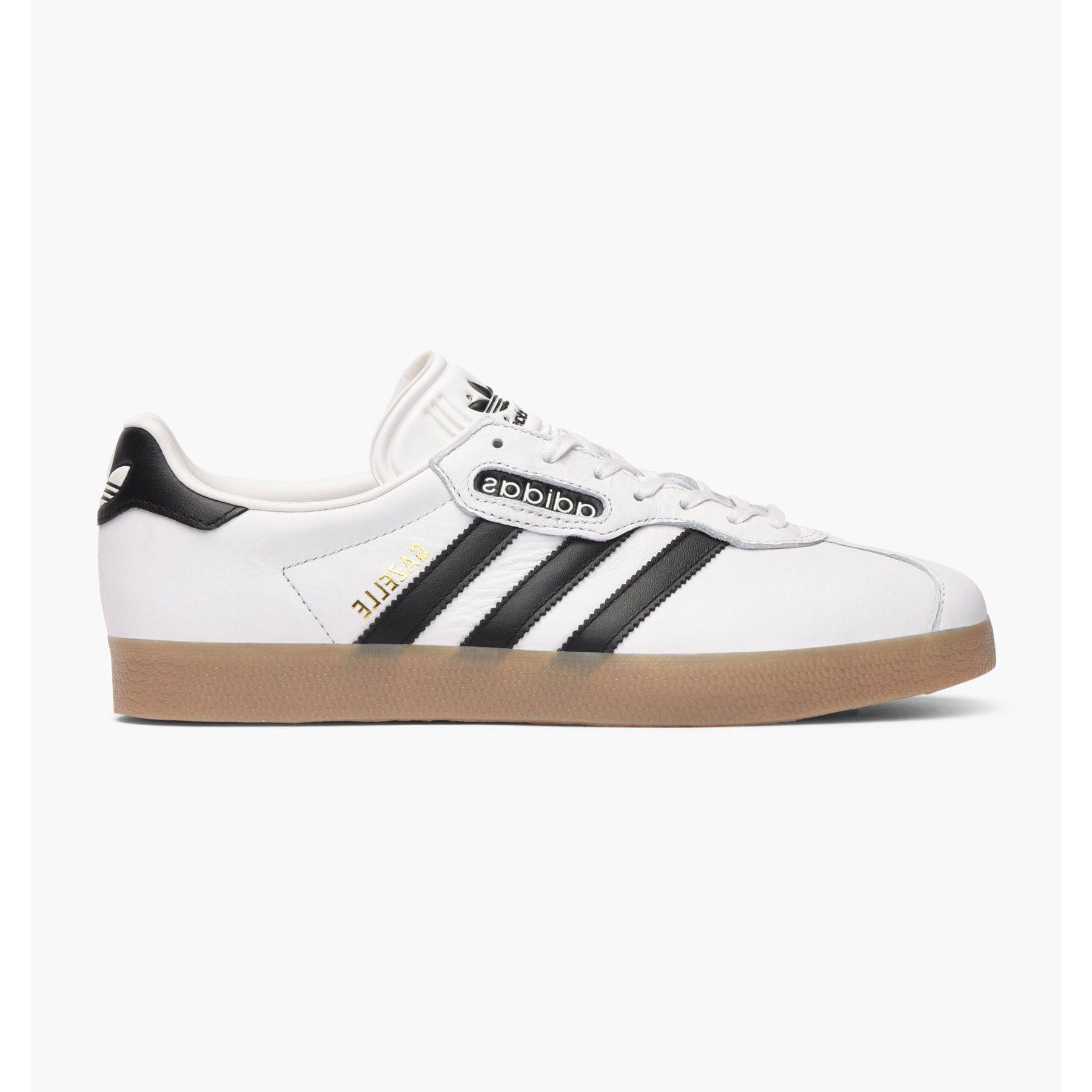 Pantofi Sport Adidas Gazelle Super, Barbati, Alb BB5243 43.5 EU