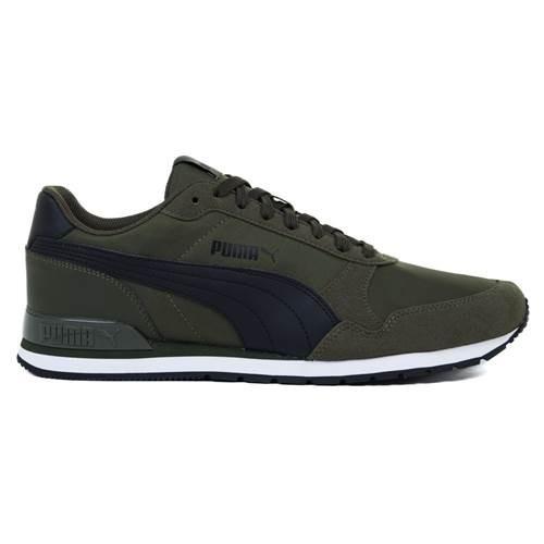 Pantofi sport barbati Puma ST Runner v2 NL, verde 36527809-40.5