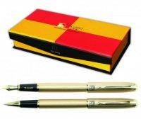 Set Pix şi Stilou PICASSO Model 916 auriu