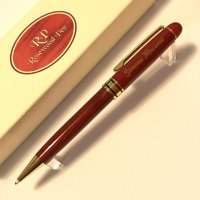 Pix Rosewood pen red wood with gold