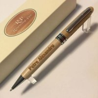 Pix Rosewood pen white wood with silver