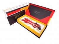 Set Pix şi Stilou Model 916 rosu 1