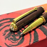 Swarowski Luxury  Rosewood Pen 4