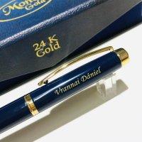 Pix Monet Gold 24K Navy Blue 2