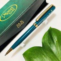 Monet Gold 24K Slim Turquoise