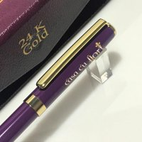 Pix Monet Gold 24K Slim Violet 55