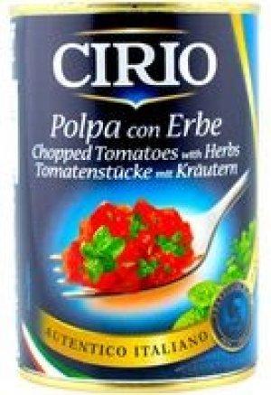 CIRIO ROSII PULPA CU IERBURI GR 400