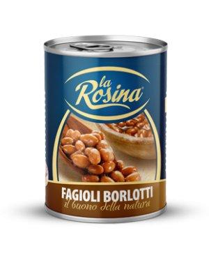 LA ROSINA FASOLE BORLOTTI GR 400