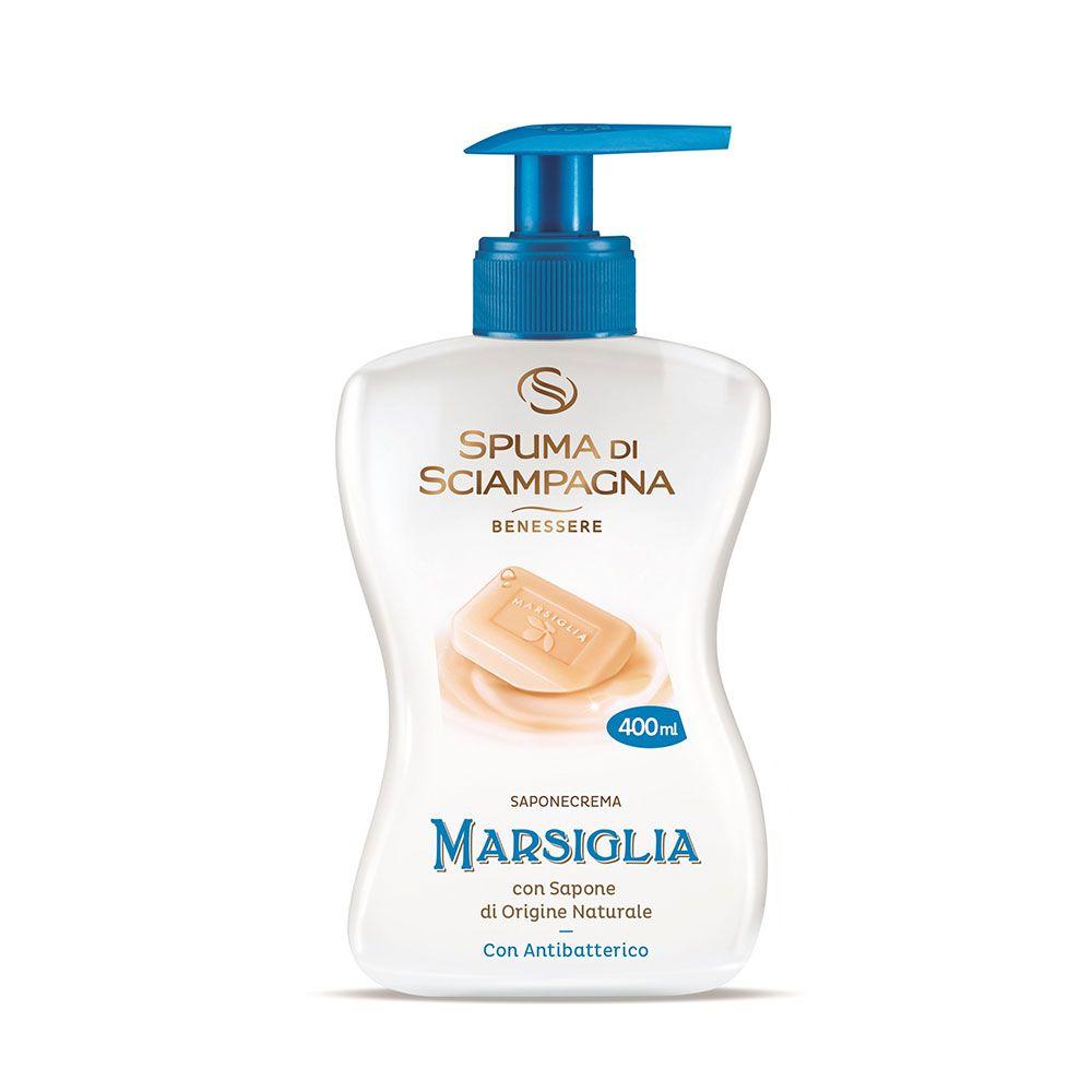 Sapun crema Marsiglia dosator ml 400