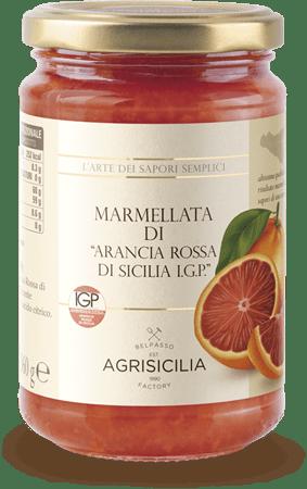 Dulceata Portocale rosie di Sicilia I.G.P 360 gr