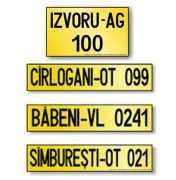 Numere și certificate inregistrare vehicule