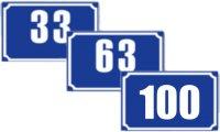 Numere de casa cu protectie UV