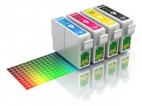 REZERVA INK JET COMPATIBIL [C] PENTRU ECHIPAMENTELE:  EPSONON STYLUS OFFICE B40W/600FW