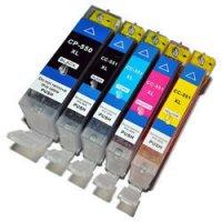 PACHET CARTUSE INK JET COMPATIBILE CANON PGI-550XL/CLI551XL-BK/CY/MA//YE