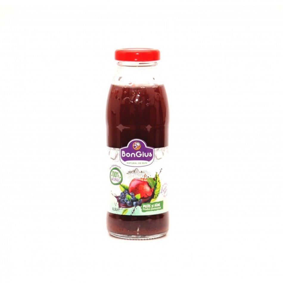 Suc natural afine+mere 0.3 L