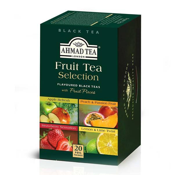 ceai negru fructe selectie