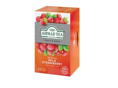 ceai capsuni salbatice