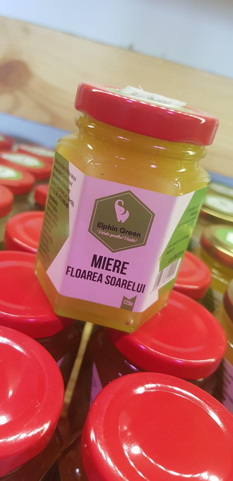 miere floarea soarelui 125 g