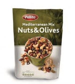 Mix mediteranean nuci și măsline