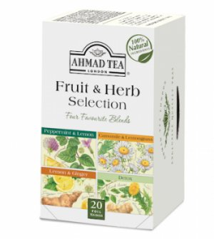 Ceai de plante și fructe selecție