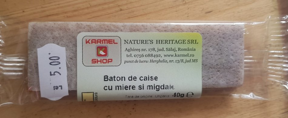 baton caise miere si migdale