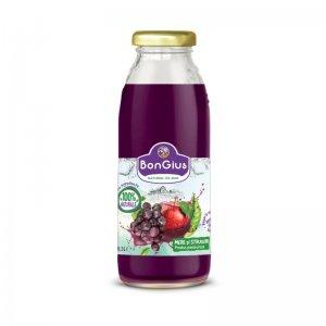 Suc natural mere+struguri roșii 0.3 L