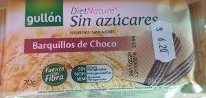 Gallon Napolitane cream cu aromă de ciocolată 70%  fără zahăr 70 g