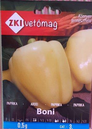 Seminte Ardei BONI 0.5 G