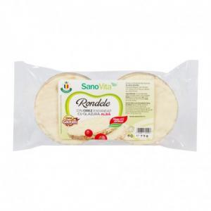 Rondele orez cu glazură albă 75 g