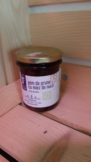Gem de prune cu miez de nucă 220 g