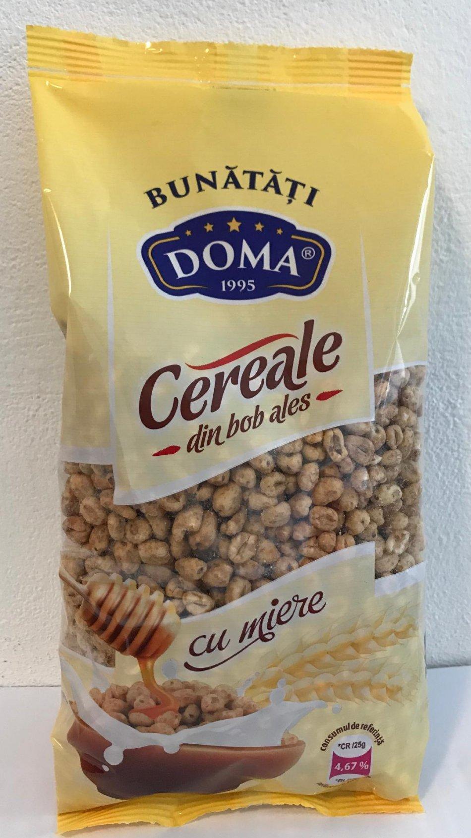 Cereale din grâu cu miere