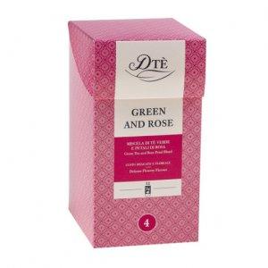 Ceai Green  Rose DTE 12 plicuri