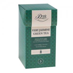 Ceai Jasmin Green DTE 12 plicuri