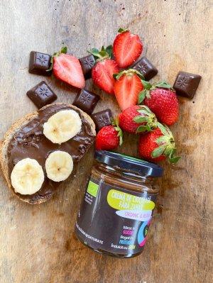 Cremă de ciocolată fără zahăr Organic & Vegan 200 g
