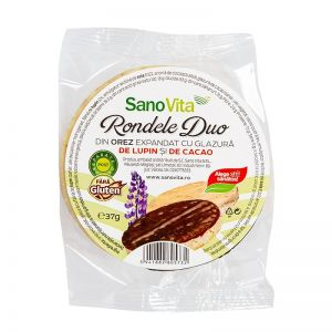 Rondele duo lupin și cacao 37 g